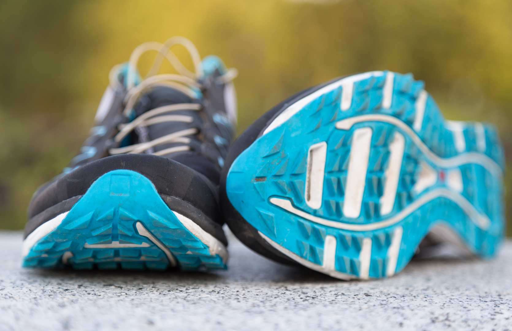 Running shoes - the core of a running holiday kit list